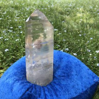 LS060 Crystalina Lemurian (Manifestation, Floater, Pink)   545g 160mm
