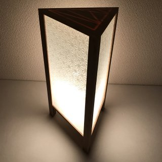 ALTAIR TRIANGLE Lamp 【麻の葉】