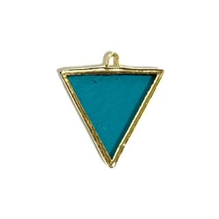 <img class='new_mark_img1' src='//img.shop-pro.jp/img/new/icons1.gif' style='border:none;display:inline;margin:0px;padding:0px;width:auto;' />【2/17 �】 【Gold】 Turquoise TRIANGLE