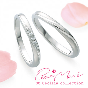 プチマリエ 結婚指輪(2本セット)PM-41、PM-42 RF