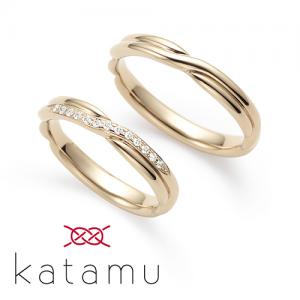 カタム  結婚指輪(2本セット)縁 えにし RF
