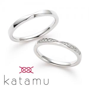 カタム 結婚指輪(2本セット)千幸 ちゆき RF