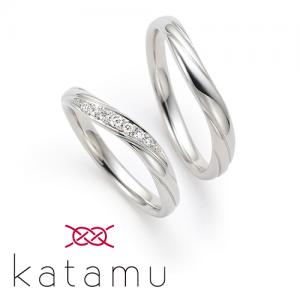 カタム 結婚指輪(2本セット)木の芽風 このめかぜ RF
