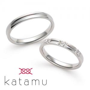 カタム 結婚指輪(2本セット)淙々 そうそう RF