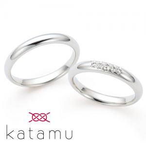 カタム 結婚指輪(2本セット)春光 しゅんこう RF
