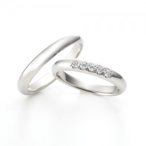 LAZARE DIAMOND 結婚指輪(2本セット)URA801/URB802 RI