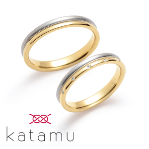 カタム 結婚指輪(2本セット)東雲 しののめ RF