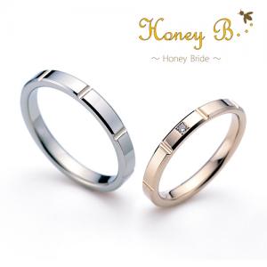 ハニーブライド 結婚指輪(2本セット)ミント RF