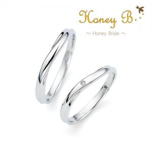 ハニーブライド 結婚指輪(2本セット)アップル RF