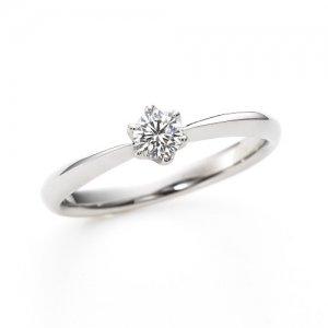 LAZARE DIAMOND 婚約指輪 LD346PR1A RI