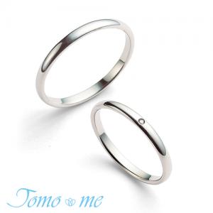 トモミ 結婚指輪(2本セット)あおぞら RF