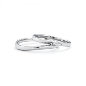 いい夫婦ブライダル 結婚指輪(2本セット)IFM101W、IFM001G RF