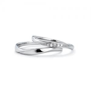 いい夫婦ブライダル 結婚指輪(2本セット)IFM103W、IFM003G RF