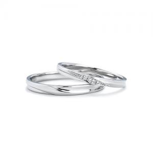 いい夫婦ブライダル 結婚指輪(2本セット)IFM104W、IFM004G RF