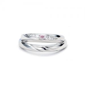 Twins Cupid(ツインズキューピッド)結婚指輪(2本セット)ミルキーウェイ RF