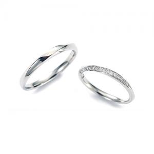 Twins Cupid(ツインズキューピッド)結婚指輪(2本セット)スウィートオペラ RF