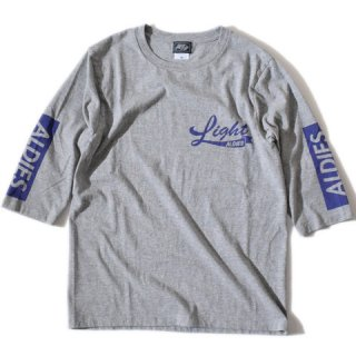 ALDIES Light Half Sleeve T GRAY