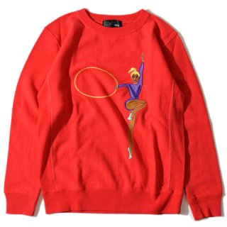 ALDIES Hoop Sweat RED