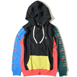 ALDIES Flamingo Zip Parka MULTI