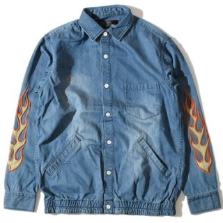 <img class='new_mark_img1' src='//img.shop-pro.jp/img/new/icons15.gif' style='border:none;display:inline;margin:0px;padding:0px;width:auto;' />ALDIES Fire Chambray Shirt BLUE