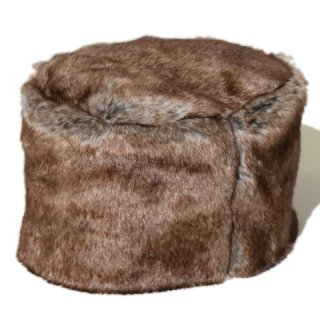 ALDIES Fluffy Fur Hat LT.BROWN