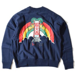 ALDIES Super Daikichi Wide Sweat NAVY