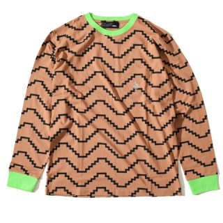 ALDIES Zig Long T BROWN