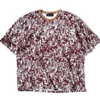 ALDIES Dream Woodstock Big T BURGUNDY