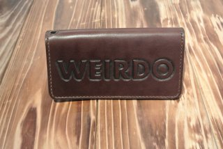 WEIRDO wallet  JEWELY LONG WALLET(BROWN)