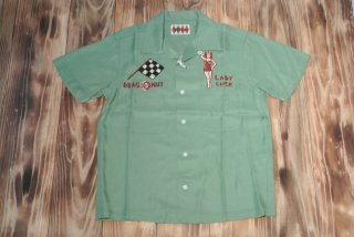 WEIRDO shirts S/S  MOTOR MFG.(GREEN)