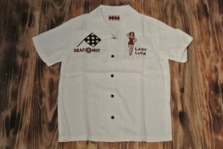 WEIRDO shirts S/S  MOTOR MFG.(WHITE)