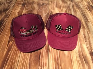 WEIRDO RACER CAP WRD CLUB(BURGUNDY)