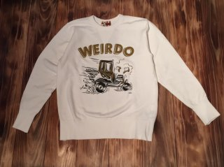 WEIRDO ZOWEIRDOS-SWEAT E(WHITE)