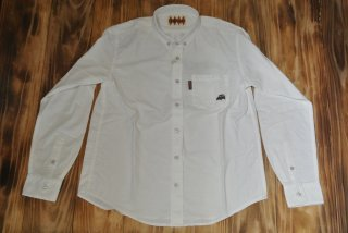 TIN CAR CLUB L/S SHIRTS(WHITE)