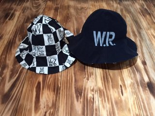 WEIRDO INITIALS HAT(BLACK)