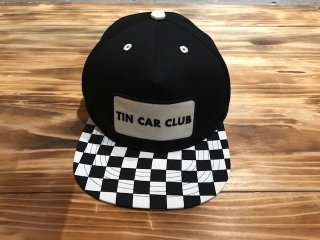 TIN CAR CLUB CAP(BLACK)