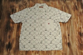 WEIRDO S/S shirt  Hand Sign Standard (WHITE)