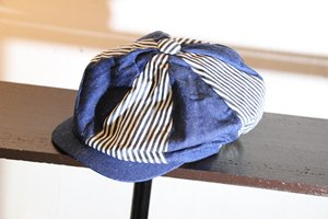 WEIRDO CLOWN THE WEIRDOS CASQUETTE(INDIGO×HICKORY)