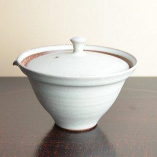 信楽焼 宝瓶(白)澤鳳山作