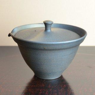 信楽焼 宝瓶(いぶし)澤鳳山作