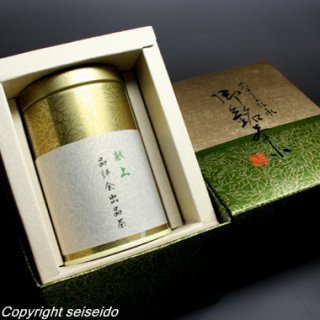 献上品評会出品茶 缶入り 80g