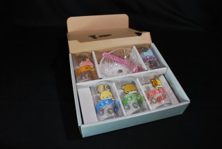 デッドストック品 HOYAガラス 昭和レトロなガラスコップセット