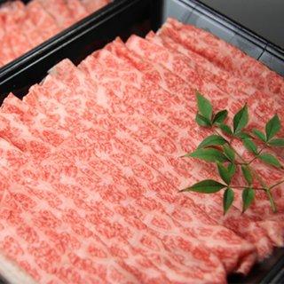 三代目厳選 常陸牛 極味 モモ(霜降:しゃぶしゃぶ) 350g