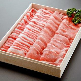 群馬県産 氷温熟成 眠り豚はるな 焼き肉セット 1000g
