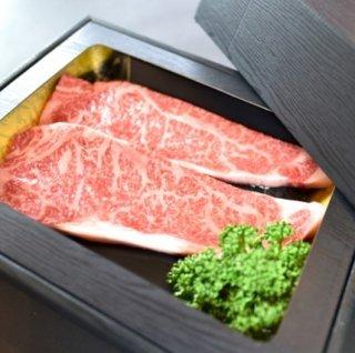 山梨県産 富士山麓牛 サーロインステーキ 220g×2枚