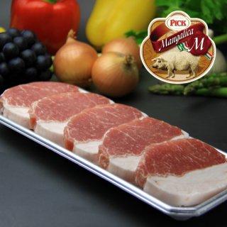 ハンガリーの国宝 マンガリッツァ豚ロース ステーキ・ソテー用切り身セット
