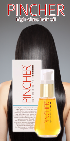 PINCHER high-class hair oil 50ml