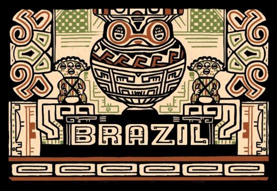 ブラジル パッセイオ ブルボン ナチュラル  /シティロースト