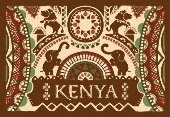 ケニア ガクユイニ ウエットミル / フレンチロースト