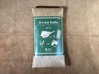 It's my knife ホオノキ & 専用シース セット